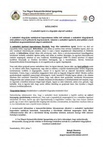 Közlemény - A szabadtéri égetés és a tzgyújtás alapvet szabályai