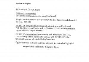Tájékoztató - Dr. Koczor Gábor másolat